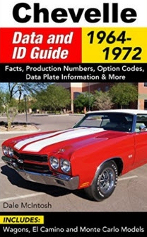 Chevelle Data and ID Guide