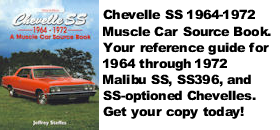 Chevelle SS Muscle Car Source Book